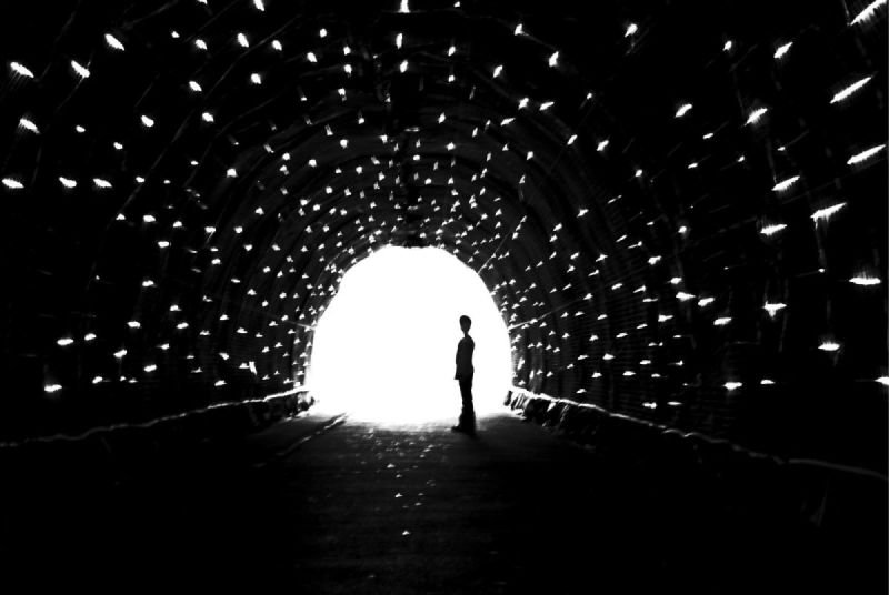 A Boy In The Tunnel