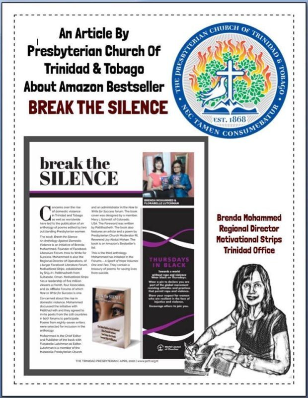 ARTICLE ON BREAK THE SILENCE