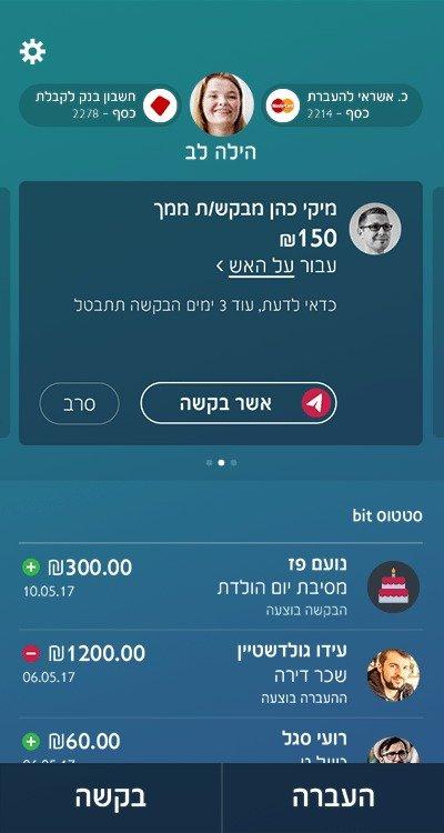 ניתן לשלם באמצעות כל אפליקציה של העברה בנקאית