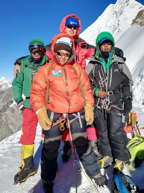 LOBUCHE EAST 6119 PEAK CLIMBING EXPEDITION 2020, 2021, NEPAL, HIMALAYA