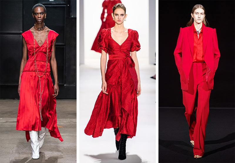 Tendances couleurs automne / hiver 2019-2020: piment rouge