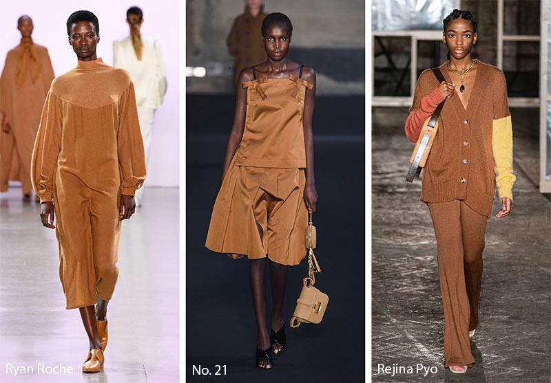 Tendances couleurs automne / hiver 2019-2020: brun noisette