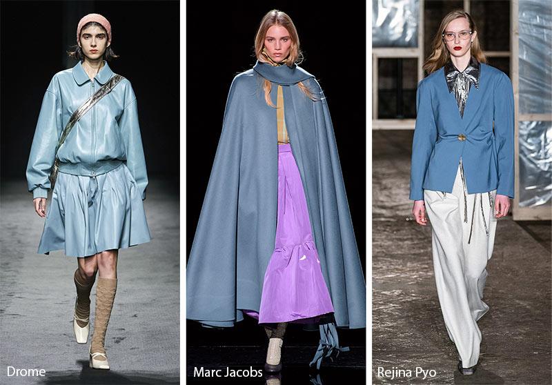 Tendances couleurs automne / hiver 2019-2020: Bluestone