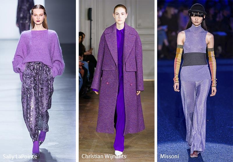 Tendances couleurs automne / hiver 2019-2020: Grapeade Mauve