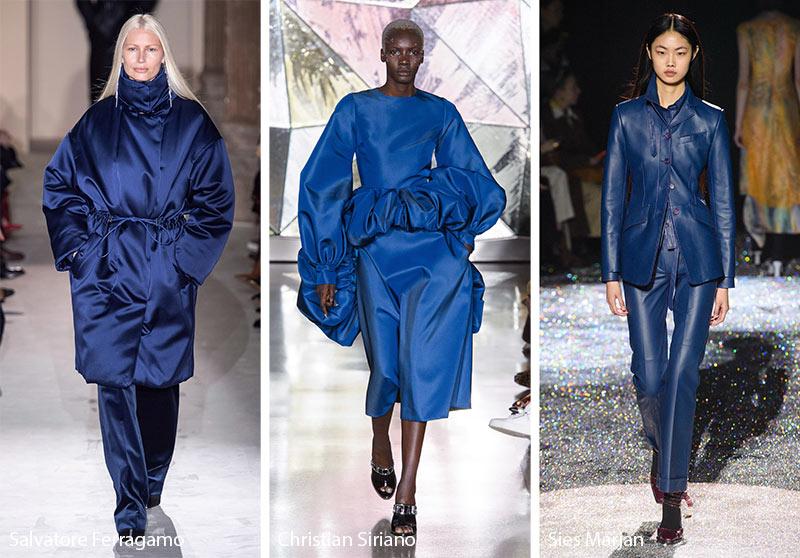 Tendances couleurs automne / hiver 2019-2020: Galaxy Blue