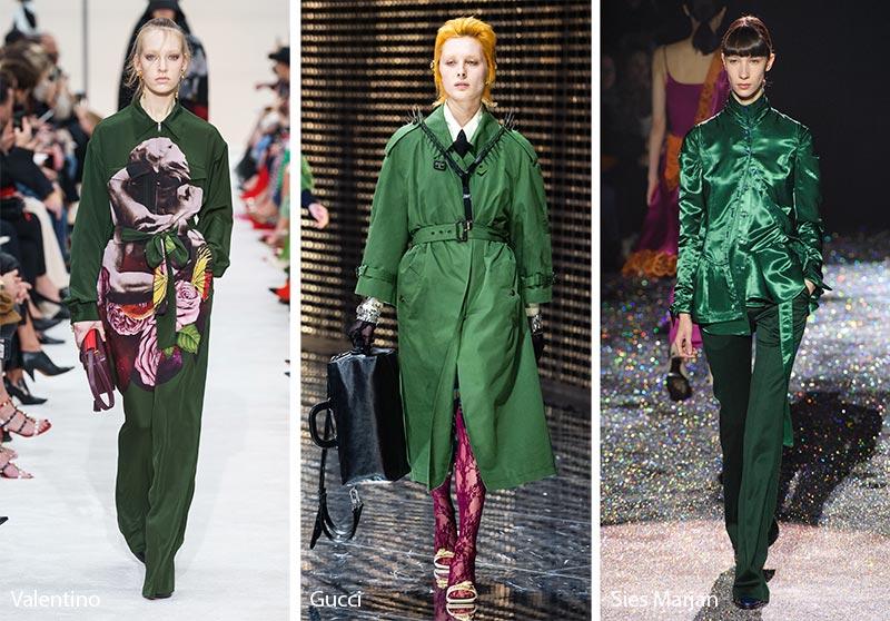 Tendances couleurs automne / hiver 2019-2020: Eden Green