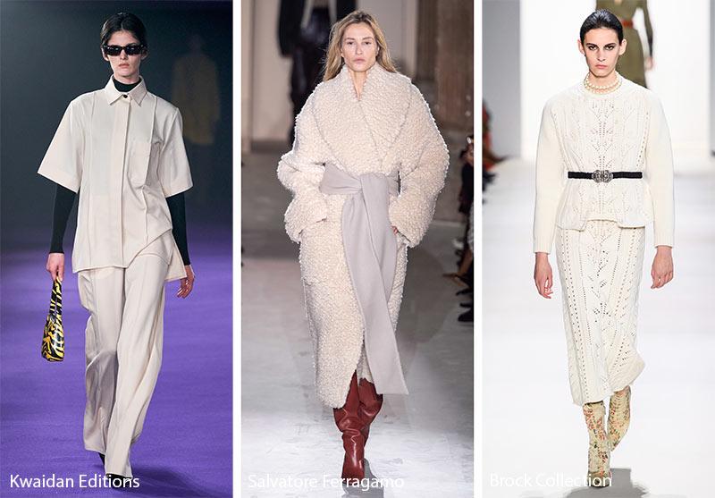 Tendances couleurs automne / hiver 2019-2020: beige rutabaga