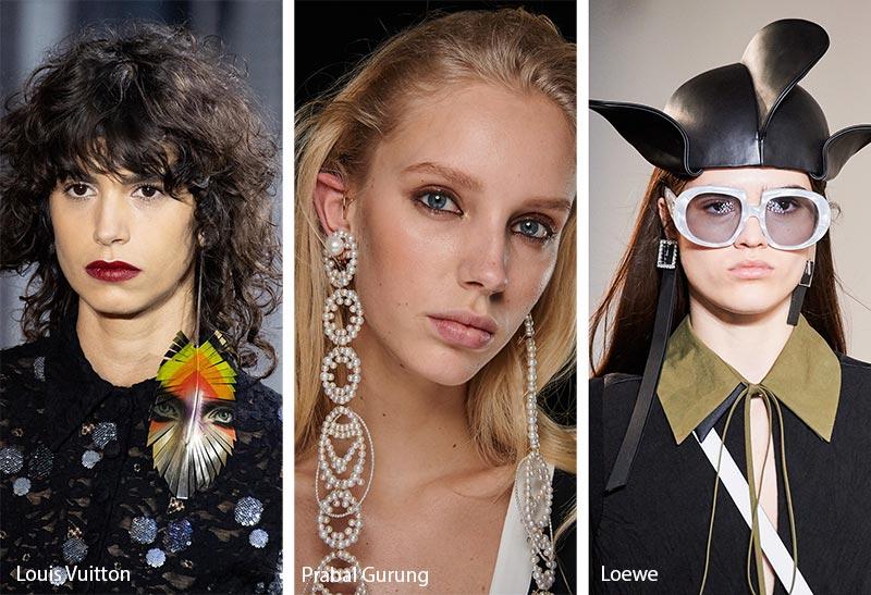 Tendances bijoux automne / hiver 2019-2020: Boucles d'oreilles extra-longues