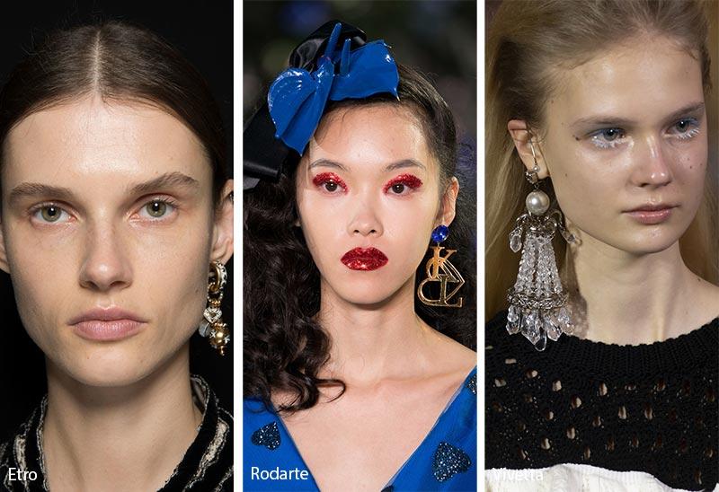 Tendances bijoux automne / hiver 2019-2020: Boucle d'oreille simple
