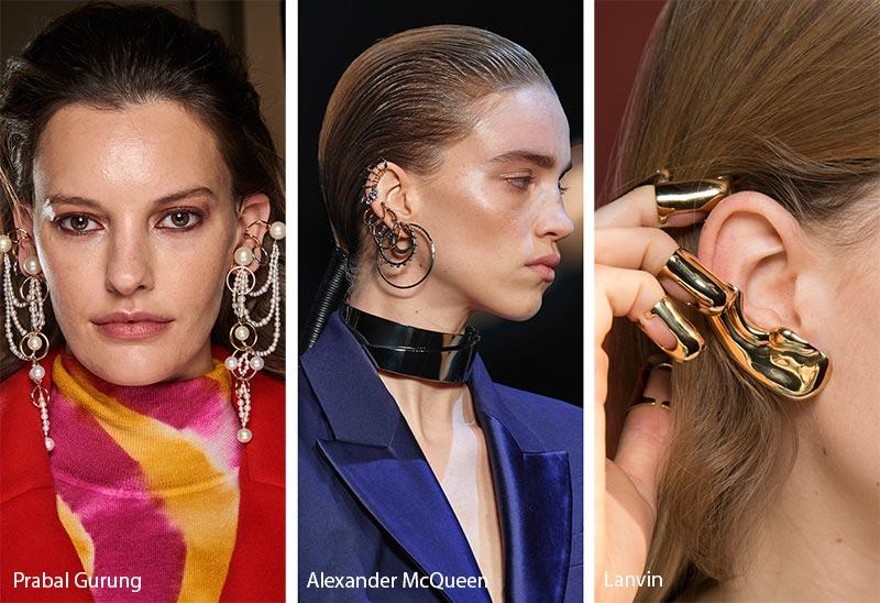 Tendances Bijoux: Automne / Hiver 2019-2020: Ear Armor - Ear Cuffs