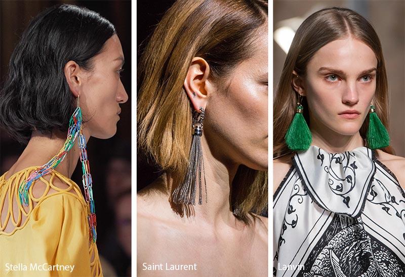 Tendances bijoux automne / hiver 2019-2020: bijoux avec pampilles