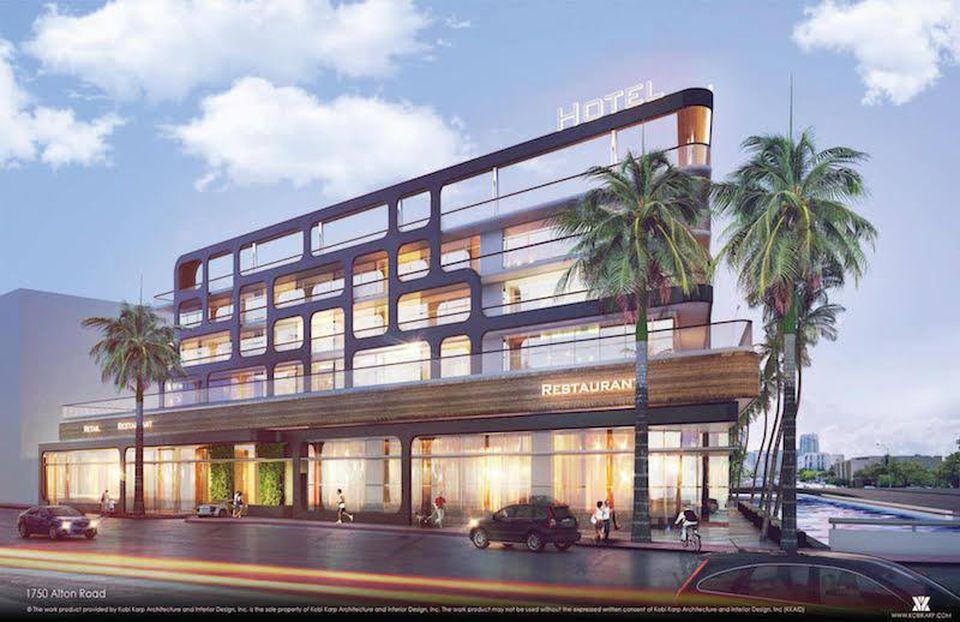 Le Kimpton Palomar sera un lieu de prédilection à Miami.