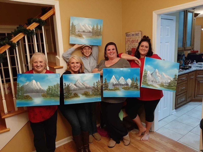 Bob Ross Technique® Painting Parties