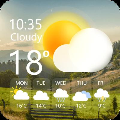 Weather Forcast & Widgets Radar