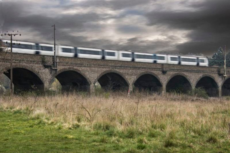 Speeding Train