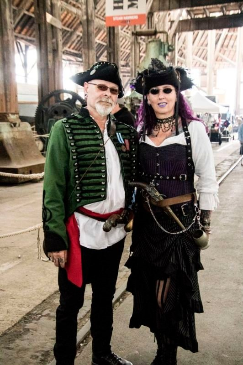 Steam Punks at Chatham Dockyard 2019