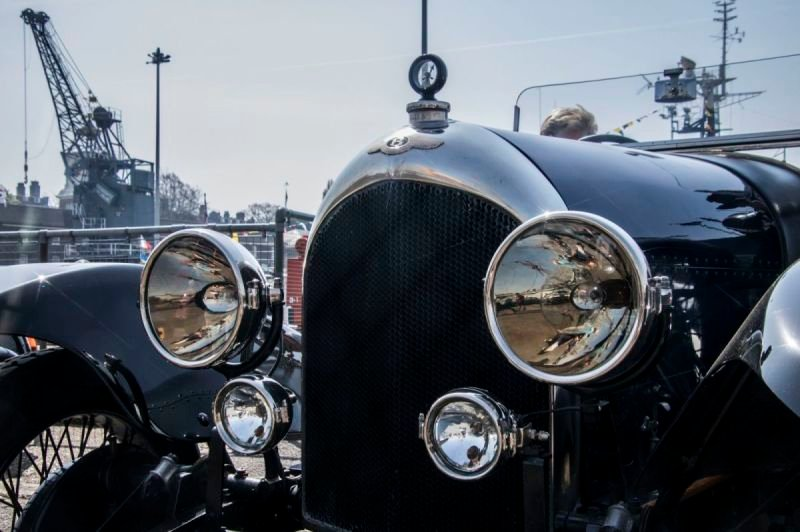 Classic Cars at Steam Transport event at Chatham Dockyard 2019