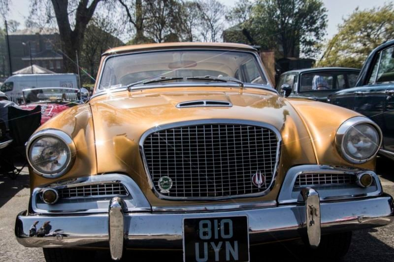 Classic Cars at the Steam Transport event at Chatham Dockyard 2019