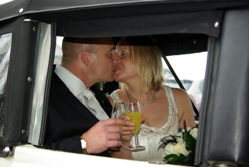 Lee & Yvonne. 4th August 2009