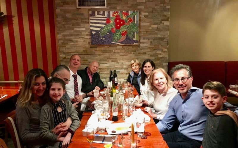 The Marks and Saul Family celebrating Passover... since 1978!