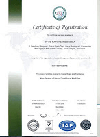 bpom denature,prestasi denature,denature hebat,sertifikat ISO 9001 de nature