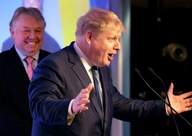 Conservative MP Boris Johnson at Met Police Awards