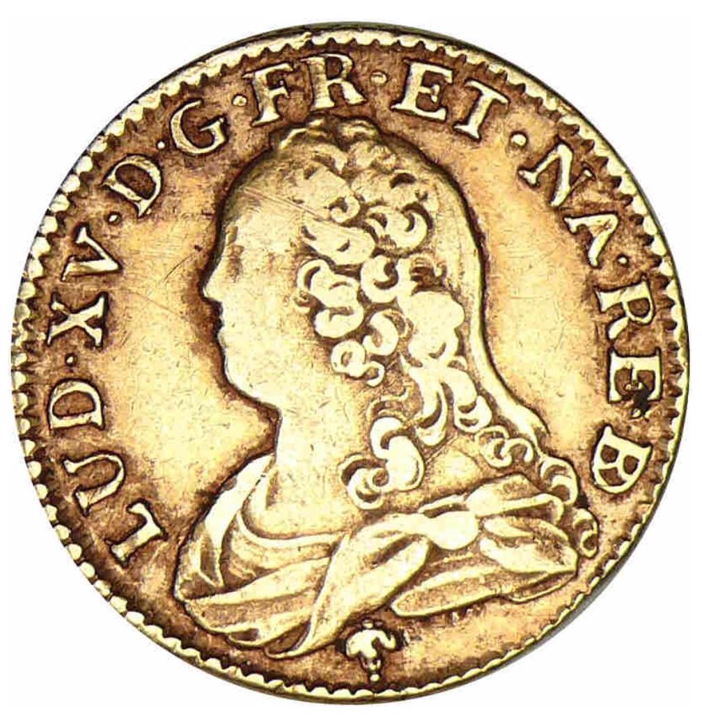 Gouden munt Louis XV
