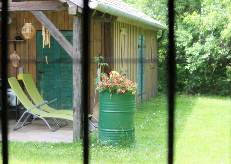ha kinézel a hálószobából... * Blick vom Schlafzimmer * view from the sleeping room
