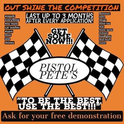Pistol Pete's Racing Liquids