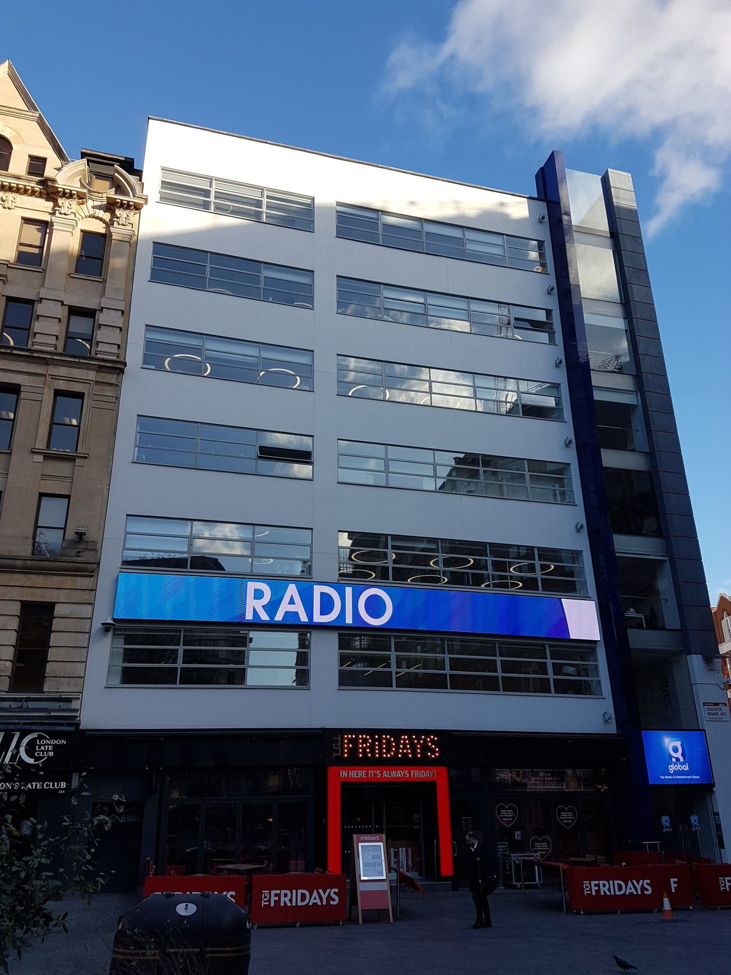 capital radio location