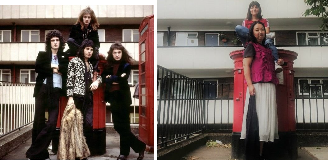 Queen Phone booth