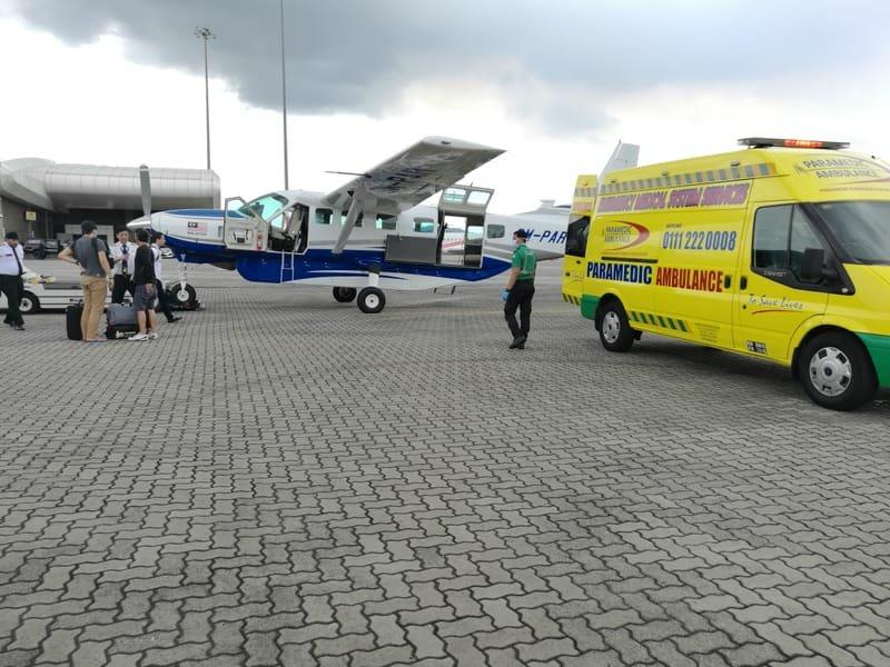 Medical Evacuation / Sea Transfer Care Service
