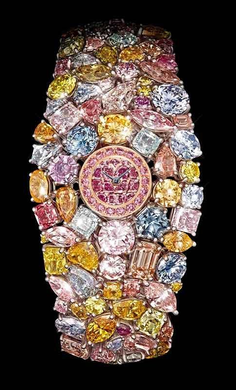 Самые дорогие часы в мире Graff Diamonds Hallucination