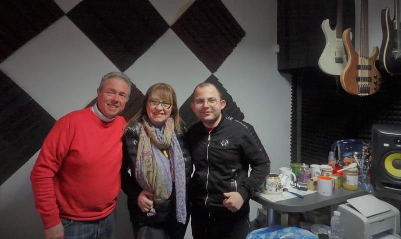 Legends: Margarita Hranova, Hristo Kidikov and young composer Kamen Nikolov