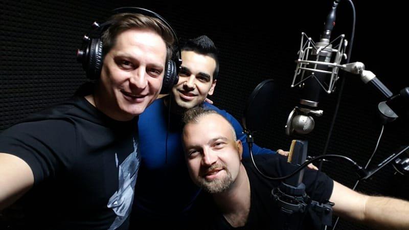 Vlado Dimov, Aleks and PEtar