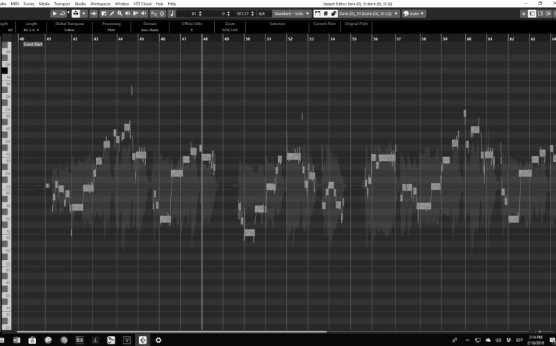 Instruments and Vocals editing and intonation fixing