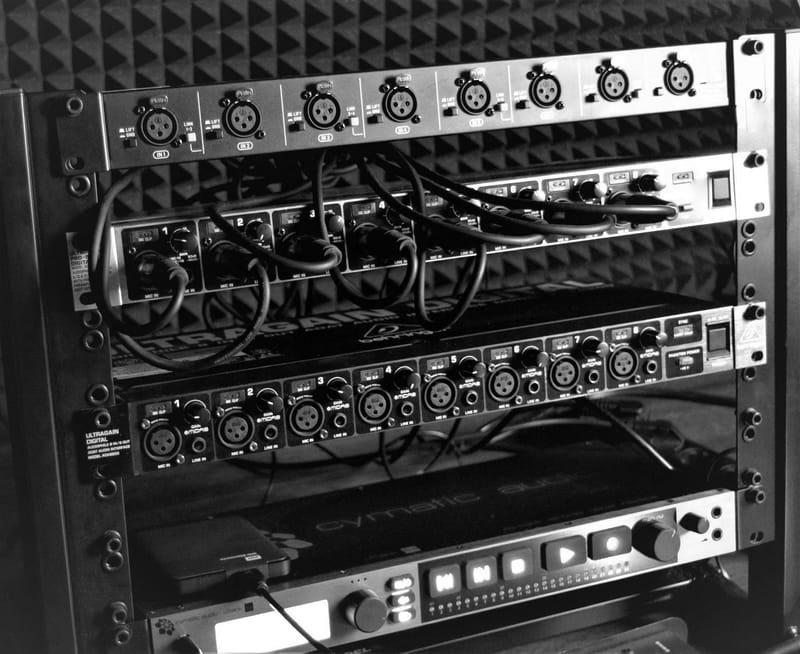 Live Multitrack 96/24 recording