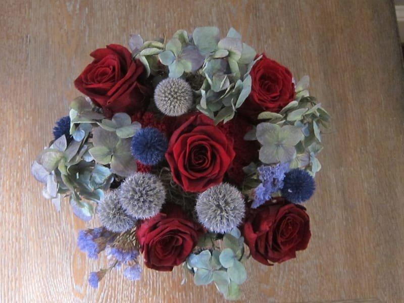 107 Mixed Rose Bouquet