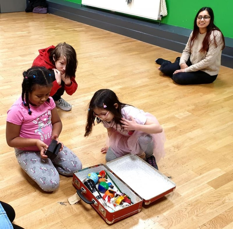 Drama workshop with Autistic Inclusive Meets. Feb 2020