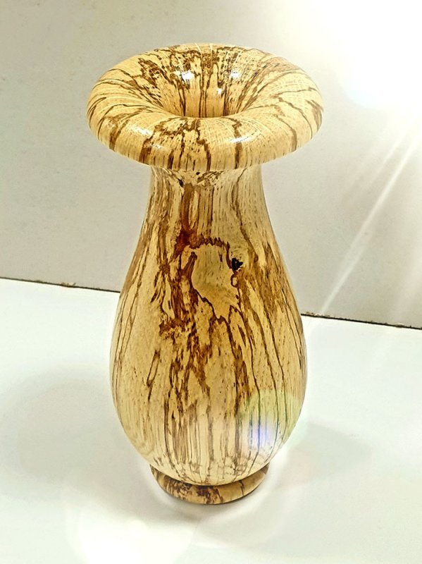 Pats Spalted Bud Vase
