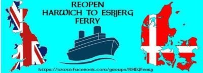 Reopen the Harwich to Esbjerg Ferry