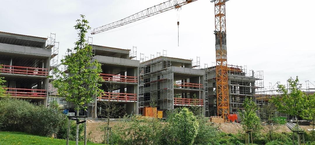 Construction site in Focus