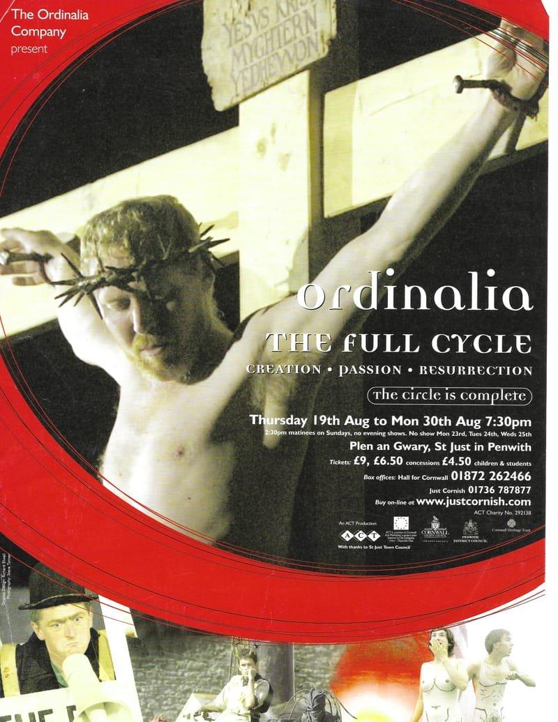 The Ordinalia Full Cycle