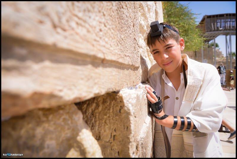 בר מצווה ברובע היהודי