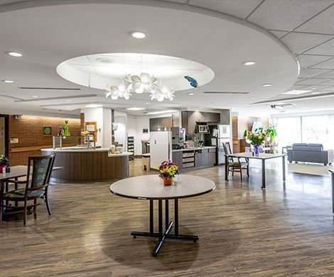 Capitalcare Dickensfield Dining Room Enhancement
