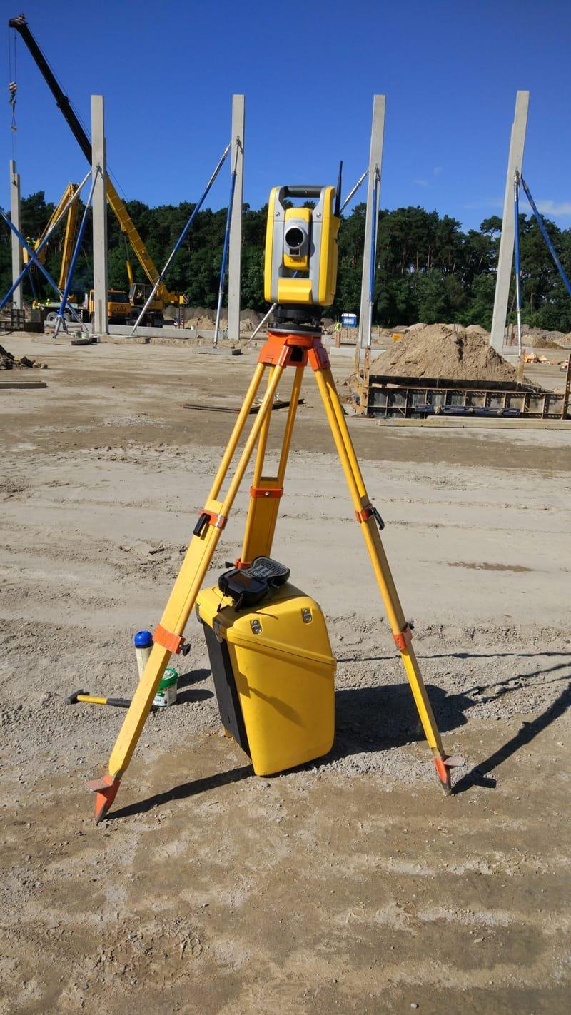 Geodezyjna obsługa budowy