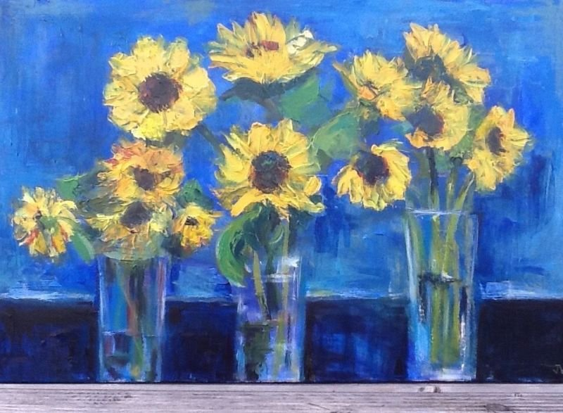 Sunflowers 1 SOLD
