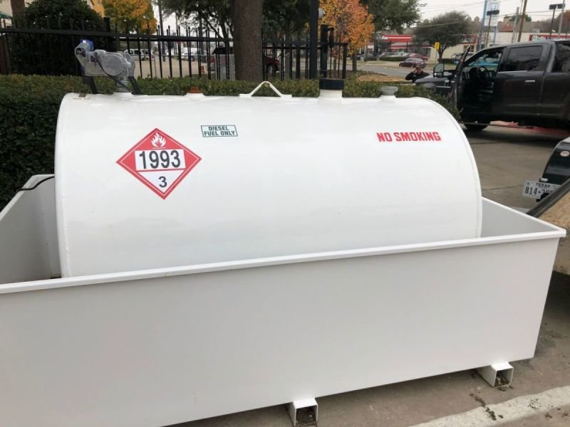 (550 Gal) Fuel Storage Tank