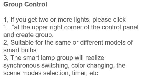 Globe Wifi Bulb 9W G25 RGBW Tuya Smart Led Bulb Light Compatible with Alexa Google Home