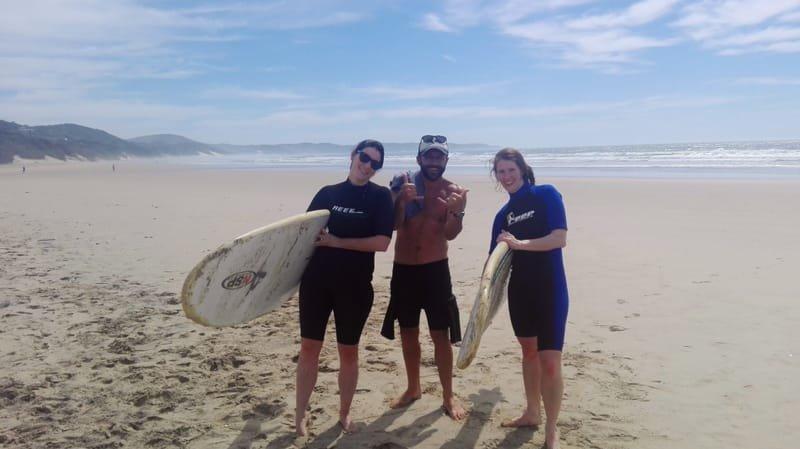 Hiking & Surfing the Wild Coast